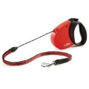 Flexi Comfort Grip 16 Ft. Lead- Up to 44 Lbs.- Red