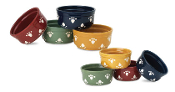 Earthy Paws Stoneware Bowls