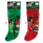 Zanies Holiday Filled Cat Stocking