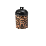 Leopard Buzz Treat Jar