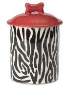 Zebra's Buzz Treat Jar