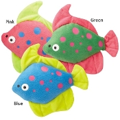 Zanies Funky Flounder Dog Toy