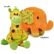 Zanies Jungle Bunch Buddies Plush Toy